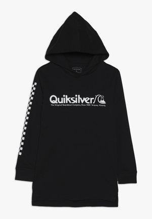 CHECKERS MATE HOODIE  - Camiseta de manga larga - black