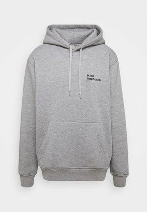 HOODIE LOGO - Bluza z kapturem - grey melange