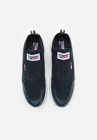 Tommy Jeans - FLEXI SOCK RUNNER - Trainers - twilight navy - 3