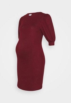 MLCABERNET DRESS - Jerseykjole - cabernet