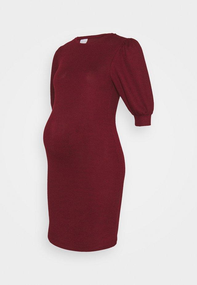 MLCABERNET DRESS - Jerseyjurk - cabernet