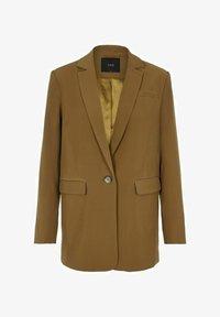 Krótki płaszcz - butternut