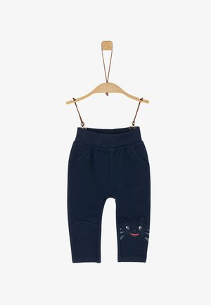 MIT TIGER-ARTWORK - Trousers - navy