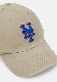 '47 - NEW YORK METS CLEAN UP UNISEX - Cap - beige - 3