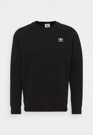 ESSENTIAL CREW - Sweatshirt - black