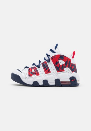 AIR MORE UPTEMPO UNISEX - Trainers - white/university red/blue void