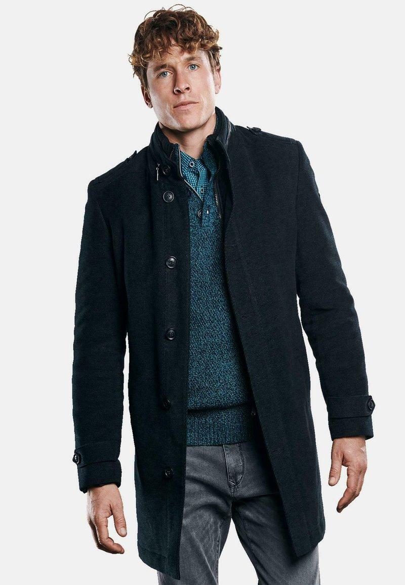 Engbers - Classic coat - schwarz