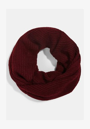 Snood - bordeaux red