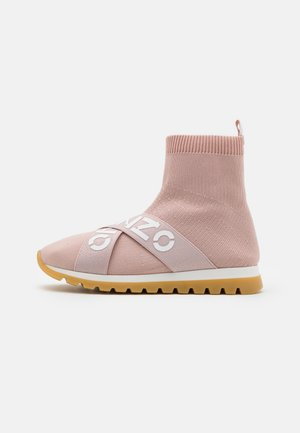 SHOES - High-top trainers - pink
