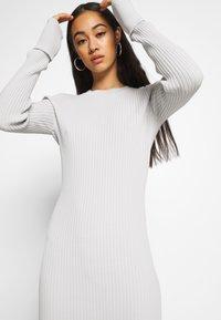 Weekday - JEWEL DRESS - Vestido de tubo - mole dusty light - 3