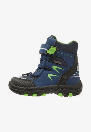 Winter boots - black/atlantic/apple