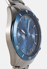 BOSS - SANTIAGO - Chronograph watch - grey/blue - 3