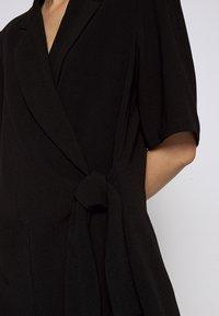 Hofmann Copenhagen - SYLVIA - Krátký kabát - black - 6