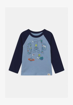 TODDLER BOY LOGO - Long sleeved top - bleach blue