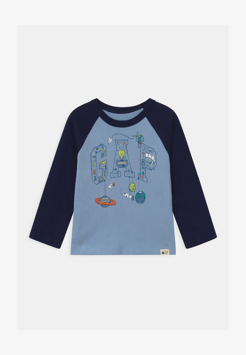 GAP - TODDLER BOY LOGO - Camiseta de manga larga - bleach blue