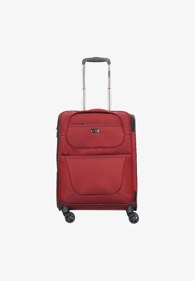 Wheeled suitcase - red