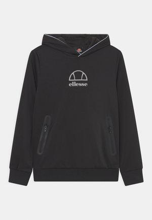 EDENI HOODY UNISEX - T-shirt à manches longues - black/silver