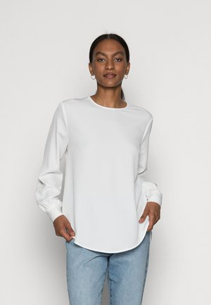 HIGH COLLAR BLOUSE  - Blouse - off white