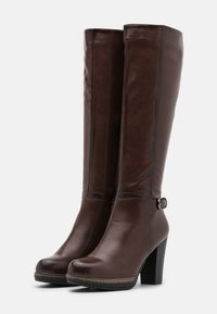 Anna Field - Bottes à plateau - dark brown - 2