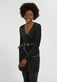 YOUNG POETS SOCIETY - YAMILA  - Cocktail dress / Party dress - black glitter - 0