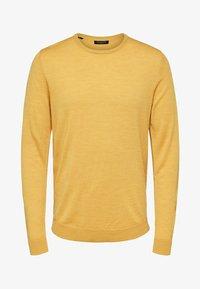 mottled dark yellow