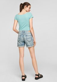 QS by s.Oliver - Basic T-shirt - turquoise - 2