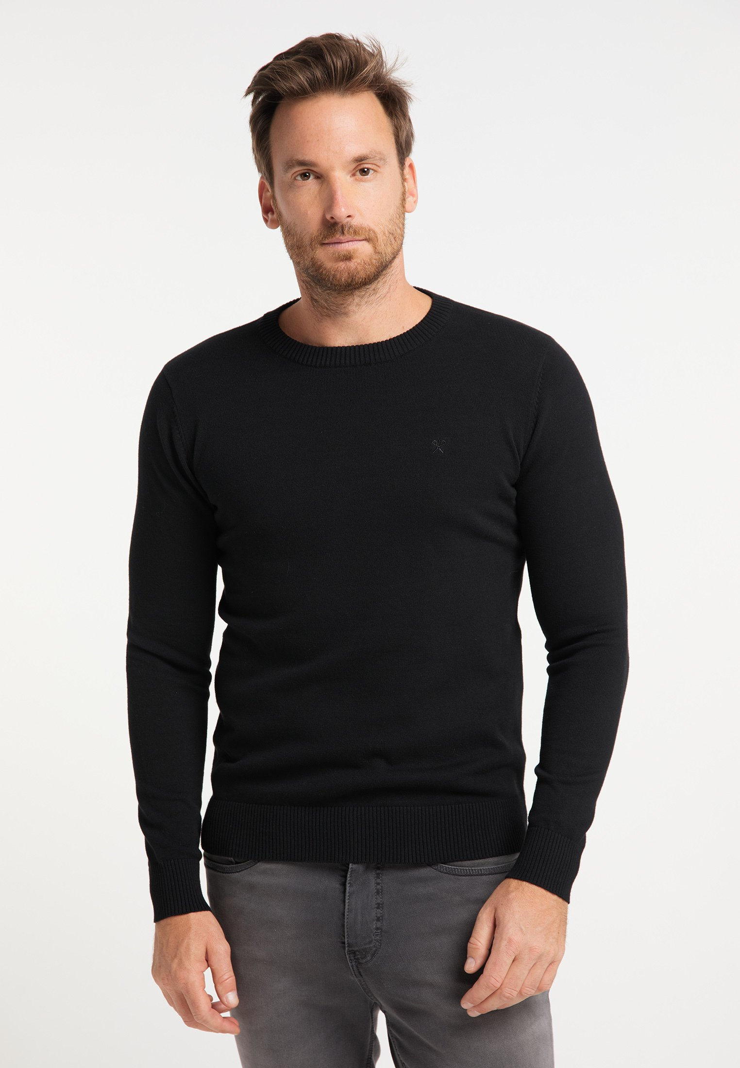 Homme RUNDHALSPULLOVER - Pullover