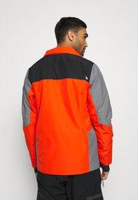 Quiksilver - MISSION PLUS - Snowboard jacket - pureed pumpkin - 4