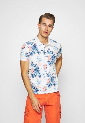 Polo shirt - blue hawai