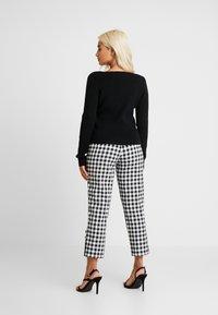 Fashion Union Petite - BEGONIA - Chaqueta de punto - black - 2