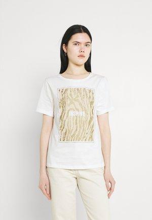 BXSILLI - T-shirt con stampa - birch mix