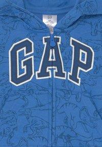 GAP - TODDLER BOY NOVELTY LOGO - Bluza rozpinana - tile blue - 2