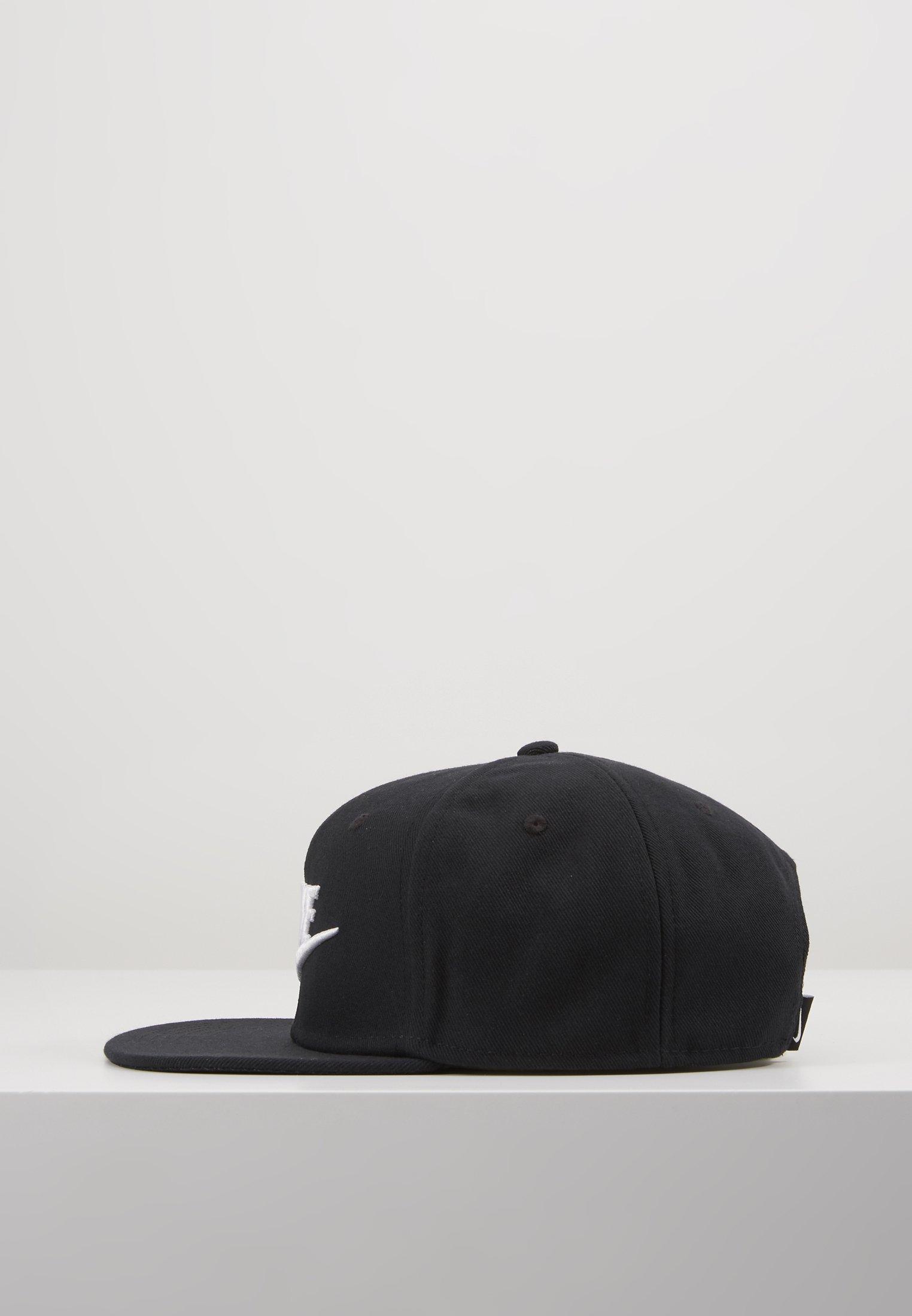 Nike Sportswear PRO FUTURA 4 SNAPBACK - Cap - black/white/svart 205cdLOc4bJvZXv