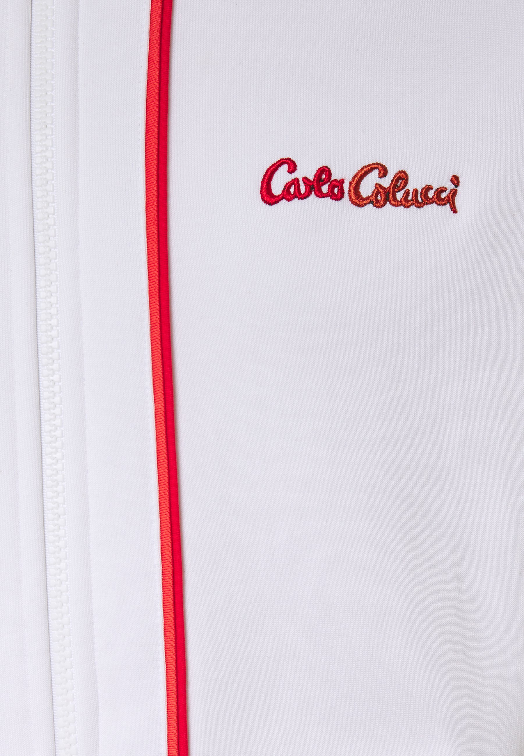 Shop For Wholesale Carlo Colucci SIDE TAPE - Training jacket - white | men's clothing 2020 4VvDq