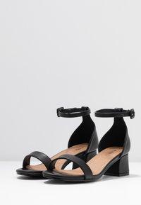 Rubi Shoes by Cotton On - LOLA BLOCK HEEL - Sandály - black - 4