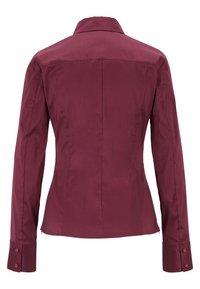 BOSS - BASHINA - Button-down blouse - dark pink - 3
