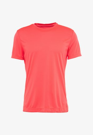 ASTOR TEE - T-shirt z nadrukiem - diva pink