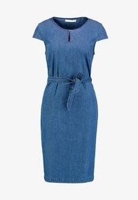 Betty & Co - KURZ - Denim dress - blue denim - 4