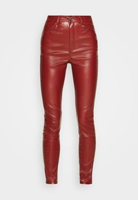 Missguided - TROUSER - Trousers - wine - 4