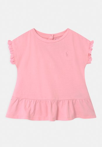 Print T-shirt - carmel pink