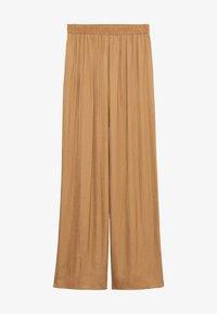 PASQ-A - Spodnie materiałowe - marrón medio