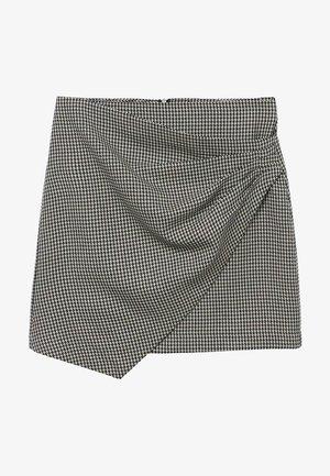 ADELE - Wrap skirt - schwarz