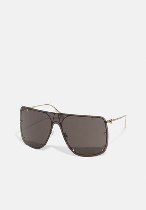 UNISEX - Sunglasses - gold-coloured/grey