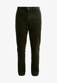 Sisley - Trousers - khaki - 3