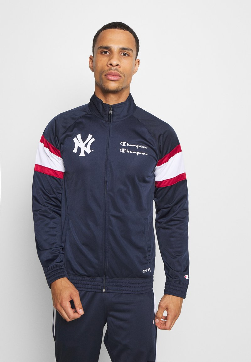 Champion - NEW YORK YANKEES TRACKSUIT - Tracksuit - dark blue