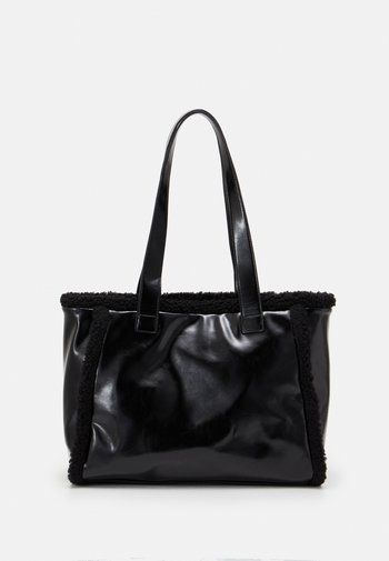 CELIA SHOPPER - Tote bag - black