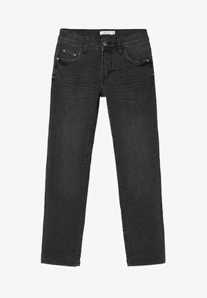 REGULAR FIT - Straight leg -farkut - black denim