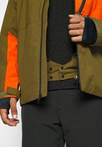Quiksilver - CORDILLERA - Snowboard jacket - military olive - 5