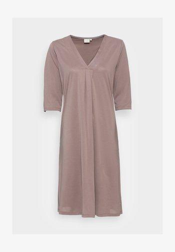 MODALA DRESS - Vestito di maglina - faded brown