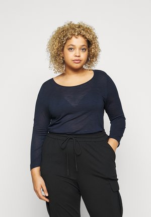 TEE - Long sleeved top - navy